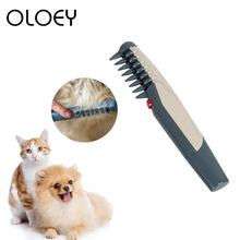 Comb Hair-Trimmer Slicker Pet-Grooming-Acessorios Electric Cleaning-Tool Puppy Cat-Brush