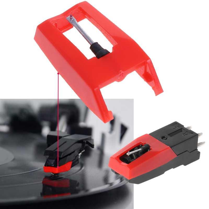 ターンテーブル蓄音機ダイヤモンドスタイラス針アクセサリーため蓄音機レコード
