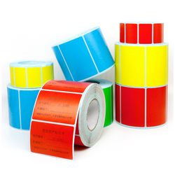 Multicolor Thermal Printing Paper DIY Writable Stickers Adhesive Blank Paper 50mm*30mm 2000pcs/roll