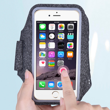 Upgrade Sweat-absorbent Sport Armbands For iPhone 11 Pro Max X Xs 7 8 Plus Pouch Samsung S20 S20+ P40 Running Phone Case