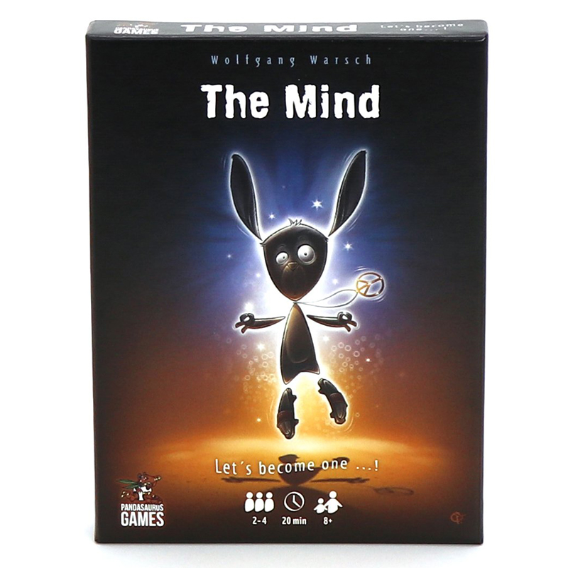 The Mind Card Game Board Game Multiplayer Board Games Family Entertainment Party Game