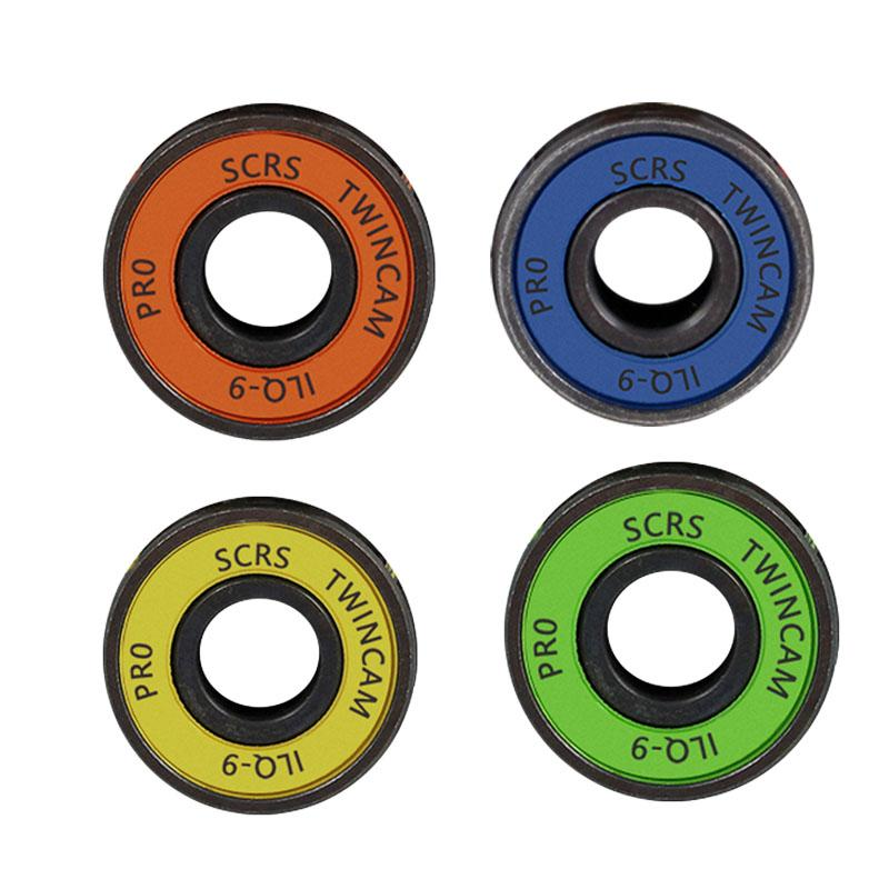 1pc Random Color Chrome Steel Bearings High Performance Bearings Skateboard Skate Roller Wheel Scooter  Skateboard Accessories