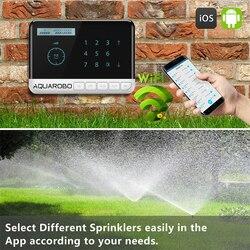 Tuya 8 Water Valve Controller Garden Wifi Irrigation System Smart Garden Watering System Sprinkler Timer US 110V EU 220V-240V