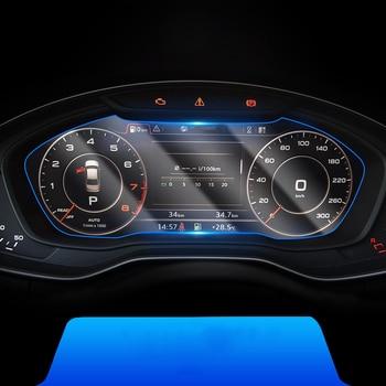 lcd 12.3 inch transparent car LCD dashboard screen protective film for audi A4 A5 2017 2018 2019 2020 B9 S4 sticker avant lsrtw2017 fiber leather car trunk mat for audi a4 allroad 2018 2019 a4 avant a4 b9