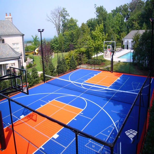 Basketball Sport Court Material Plastic