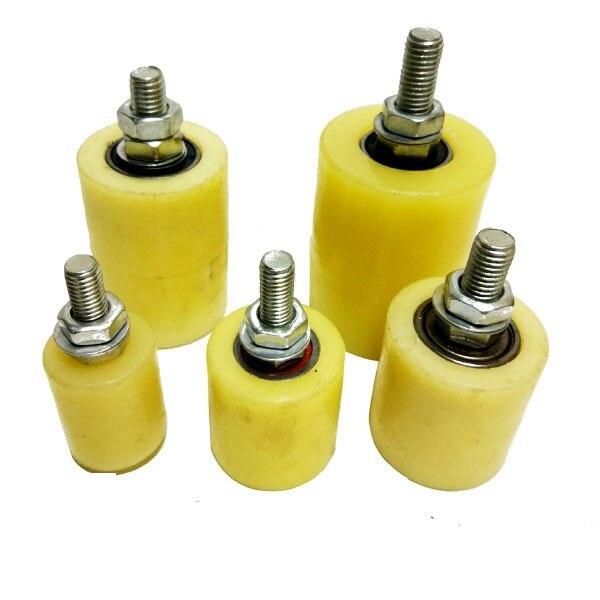 4pcs Per Pack 60x80mm 50x100mm Nylon Guide Roller, Pulley, Wheel Sliding Gate Upper Guide Nylon Roller