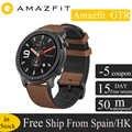 Versión Global Huami Amazfit GTR 47mm GPS reloj inteligente hombres 5ATM impermeable reloj inteligente 24 días batería Pantalla AMOLED 12 Modo deportivo