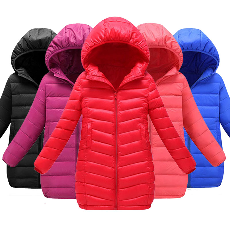 Kids Winter Jacket For Kids Sports Zipper Jackets Autumn Fashion Jacket Warm Thick Parkas For Girls Boys Coat Outerwear Clothes