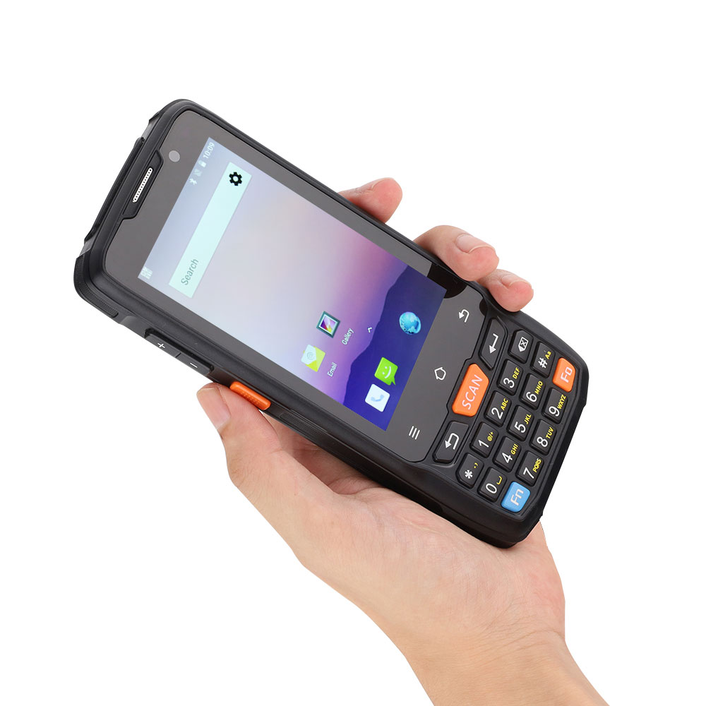 CARIBE 1D 2D QR Code Scanner Wireless PDA <font><b>GPS</b></font> 4G WIFI Bluetooth Camera Android 8.1 image