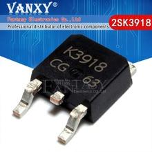 10 adet 2SK3918 SOT252 K3918 SOT TO 252 MOSFET SMD yeni ve orijinal IC