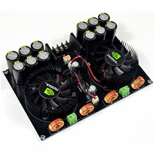 цена на TDA8954 420W+420W Class D digital power amplifier board with fan cooling