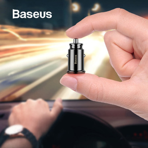 Baseus Mini USB Car Charger Fo