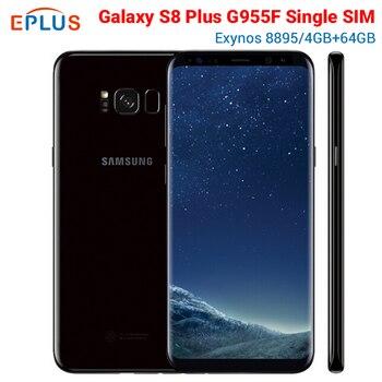 Перейти на Алиэкспресс и купить Новый оригинальный samsung Galaxy S8 + S8 плюс G955F Exynos 8895 глобального мобильного телефона 4 Гб Оперативная память 64 Гб 6,2 дюйм3500 мАч NFC Android-смартфон