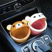 In-car trash bin multi-functional sundries in-car receptacle in-car receptacle Cute Cartoon Cashier