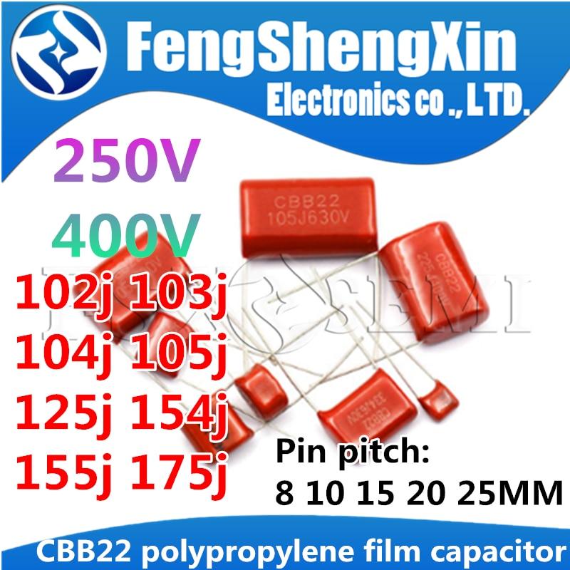 New 10pcs CBB CBB22 Metallized Film Capacitor 4.7uF 475J 630V