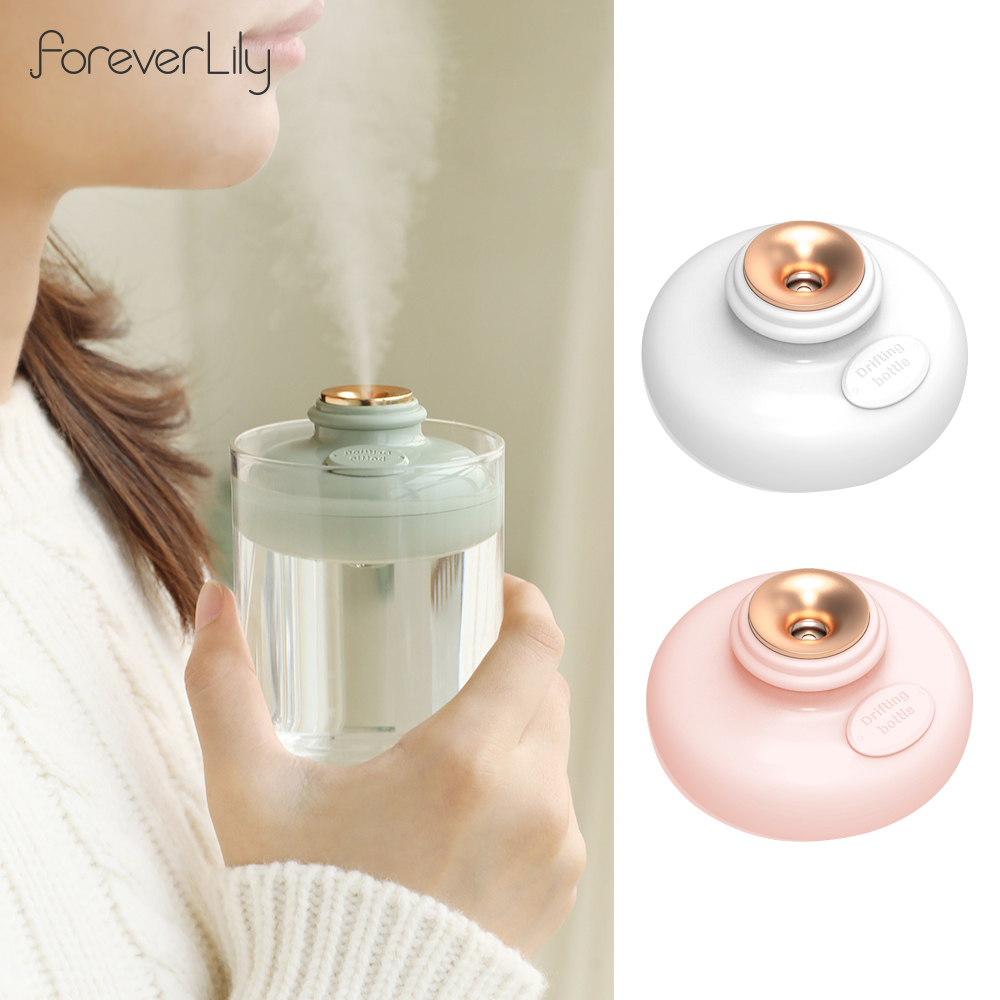 Mini Portable USB Air Purifier Humidifier Car Aroma Diffuser Home Office Trip Unlimited Capacity Scences Heavy Fog Humidifier