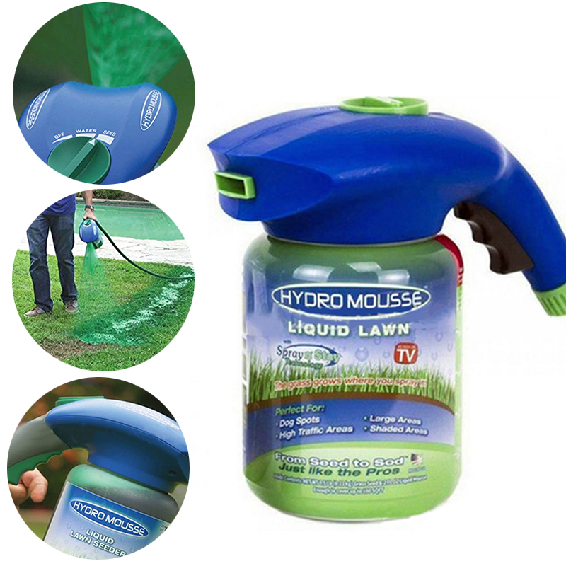 Professional Garden Home Garden Lawn Hydro Mousse Household Hydro Seeding System Liquid Spray Device For Seed Lawn Care Tools