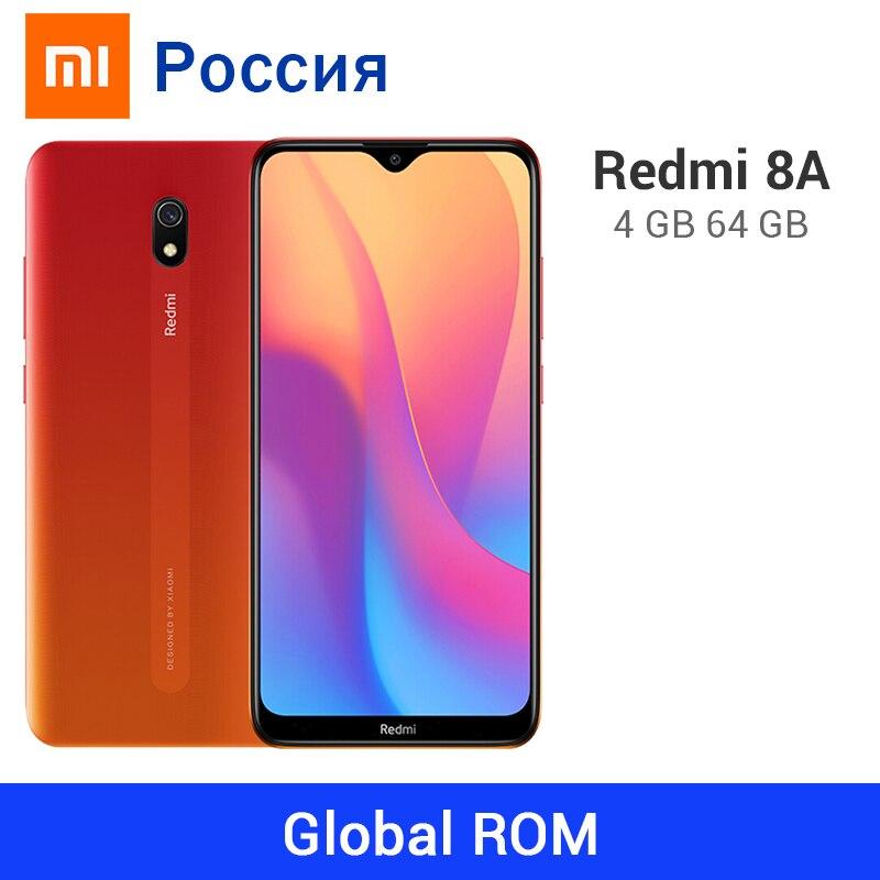 Xiaomi Redmi 8A смартфон с восьмиядерным процессором Snapdargon 439, ОЗУ 4 Гб, ПЗУ 64 ГБ, 5000 мАч, 12 МП Смартфоны и мобильные телефоны      АлиЭкспресс