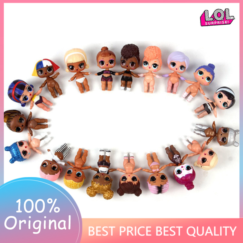 8cm L.O.L.SURPRISE! Lols Dolls Toys Surpris L.o.l Doll Generation DIY Manual Blind Box  Model Doll Baby Girl Kids Gift Hot Toys