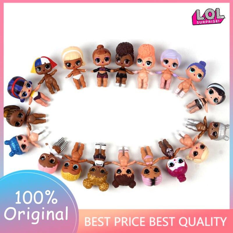 8cm L.O.L.SURPRISE! Lols Dolls Toys Surpris L.o.l Doll Generation DIY Manual Blind Box  Model Doll Baby Girl Kids Gift Hot Toys