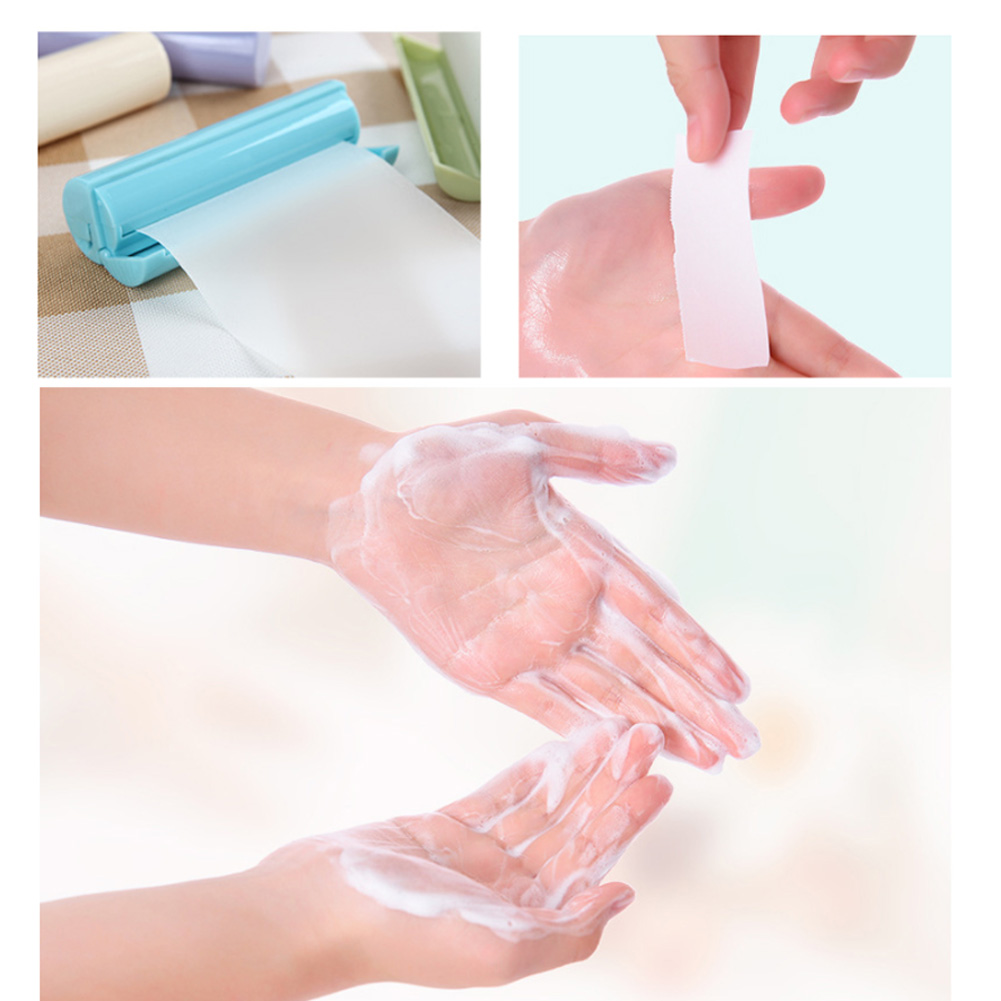 Disposable Travel Paper, Fertilizer Soap Hand Washing Bath With Fragrance, Portable Camping, Mini Hand Washing Liquid With Roll