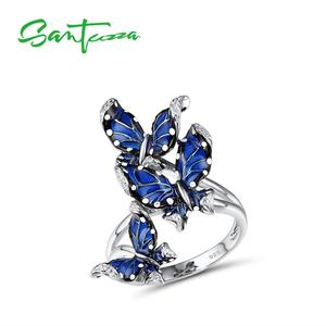 SANTUZZA Silver Rings For Wome