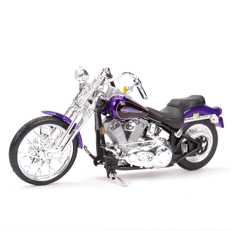 Maisto 1:18 2001 FXSTS Springer Softail Diecast Alloy Motorcycle Model Toy