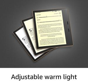 """Image 4 - All New Kindle Oasis   2019 release 32GB, E reader   7"""" High Resolution Display (300 ppi), Waterproof, Built In Audible, Wi Fi"""