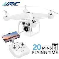 Drone FPV Fly da 20 minuti per adulto, Drone JJRC H68 RC con videocamera HD 1080P WIFI Live Video modalità senza testa altitudine Hold Quadcopter