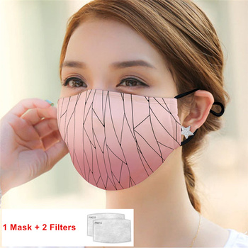 Cotton PM2.5 Mouth Mask Anti Pollution Mask With Filter Paper Dust Respirator Washable Reusable Masks Mouth Muffle In Stock