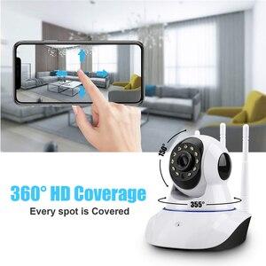 Image 2 - HD 1080P 720P bulut Wifi IP kamera akıllı otomatik izleme P2P IR Cut güvenlik kamera bebek izleme monitörü gece görüş ev kamerası