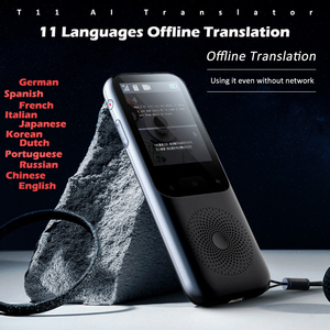 Image 2 - 138 ภาษา T11 แบบพกพา Smart Voice Translator Real time Multi Language Speech Interactive ออฟไลน์ Translator ธุรกิจ