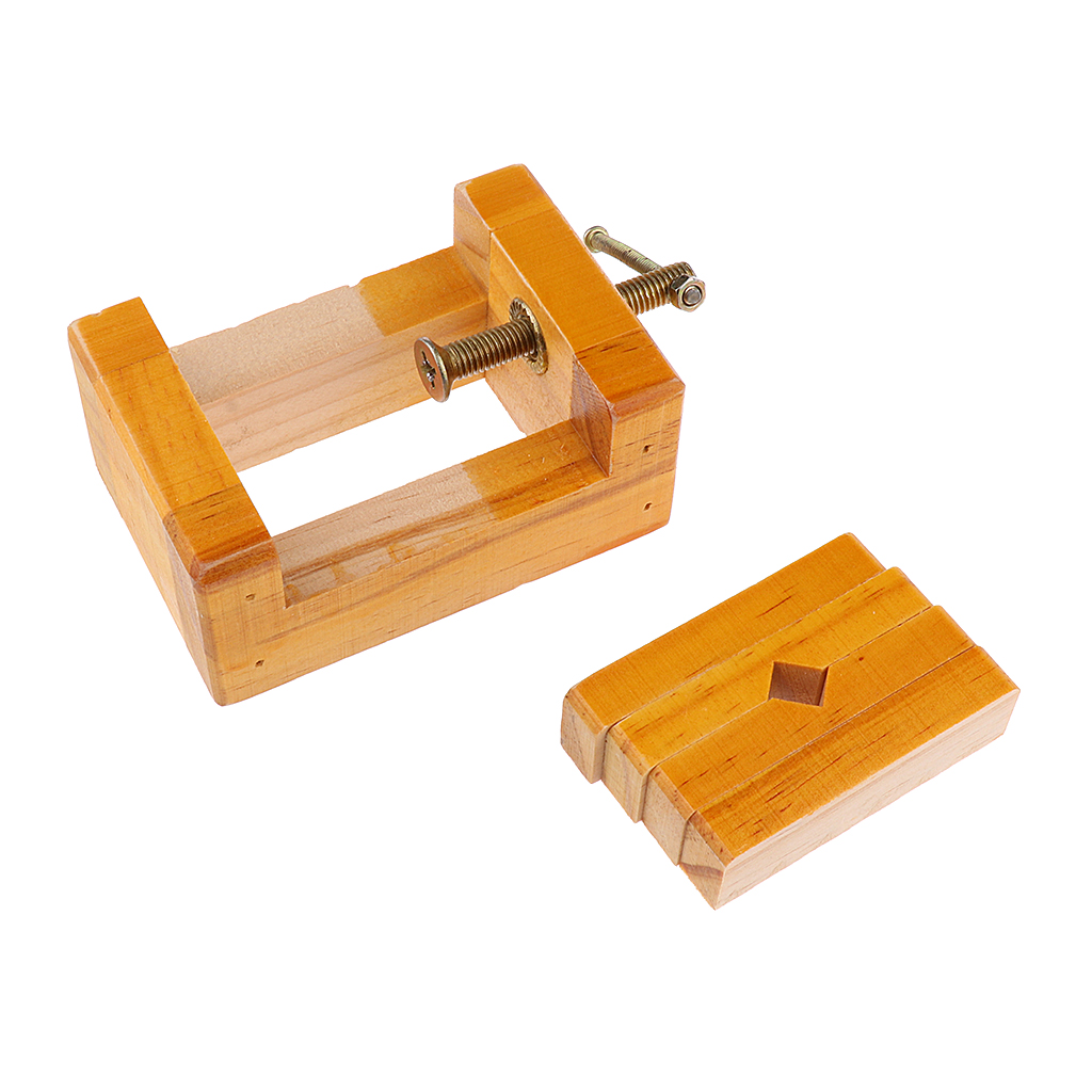 Wooden Seal Bed Carved Bed For Carving Stamp Stone Fixed Tool