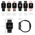 P80 Смарт-часы для женщин P68 P70 обновленная версия IP68 Водонепроницаемые Смарт-часы пульсометр кровяное давление для IPhone samsung huawei