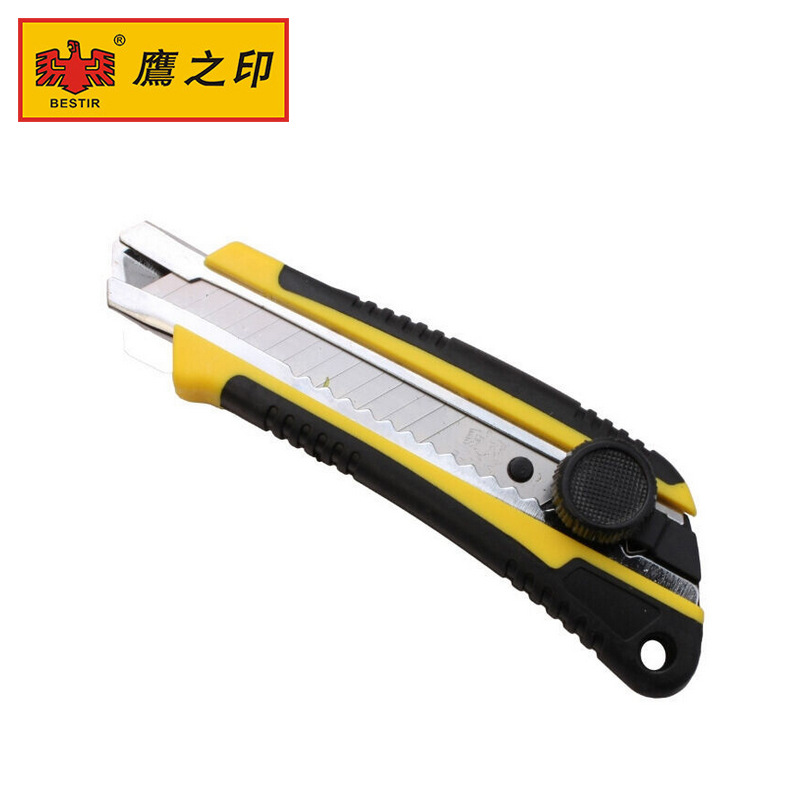 Genuine Product Wholesale Taiwan Indian Eagle Knob Large Size Utility Knife Office Household Paper Cutter Wallpaper Knife 03501