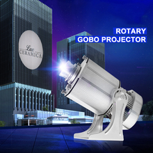 New Rotary Logo Projection Light 85W Gobo Led projector Outdoor Advertising Display Cinema Decor Support Publicite Logo Custom logo projection lamp 10w 20w 35w led advertising pattern projection indoor outdoor waterpoof display gobo customize pilot lamp