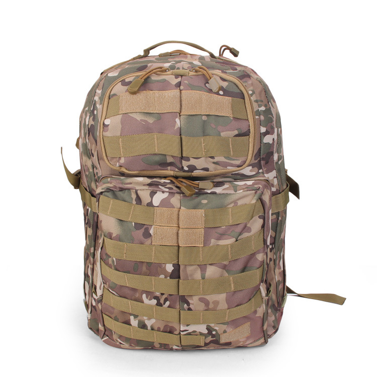 SOURCE Multi functional 600D Waterproof Rucksack Outdoor Mountain Climbing Camouflage Bag Backpack Chicken Backpack Army Fans Ba - 2