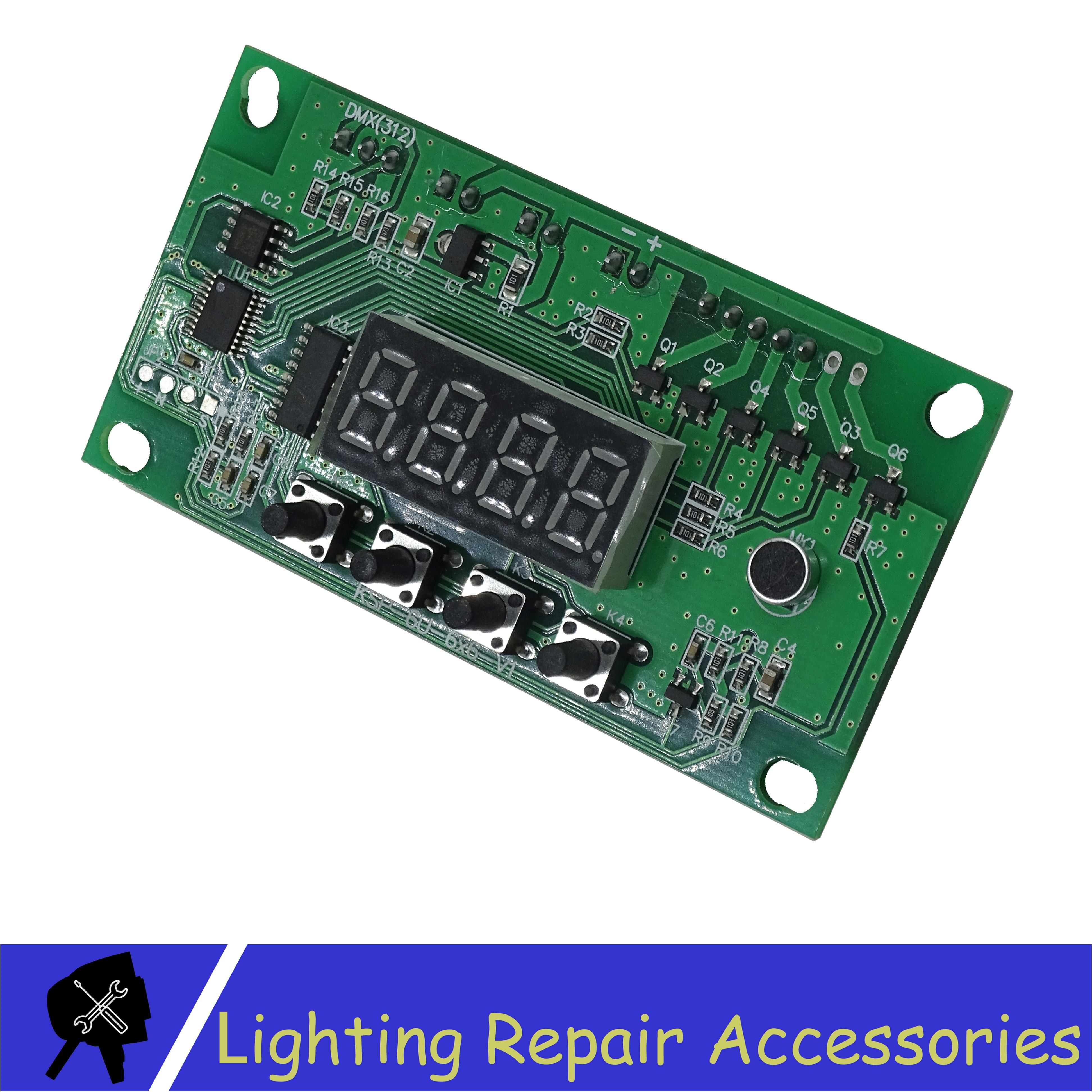 Voltage 12-36V Par Led RGBW 4in1 Motherboard 4/8 Channel 7x10w 18x3w 7x12W 6x12w 5x12w 12x12w LED PAR Motherboard