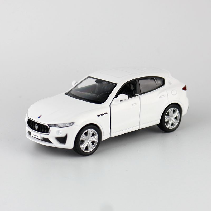 High Simulation Exquisite Diecasts & Toy Vehicles: RMZ City Car Styling Maserati Levante GTS 1:36 Alloy SUV Model Pull Back Car