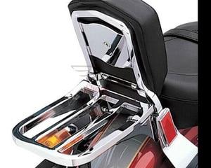Image 5 - Motorrad Rückenlehne Sissy Bar Gepäckträger Für Harley Sportster XL 04 17 Dyna 06 17 Softail 84 05 FLST FLSTC FLSTSC 06 17