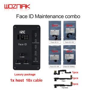 I2c face id dot-matrix ferramenta de reparo treliça detecção tester para iphone 11 pro max x xs ipad a12 face id ler escrever programador