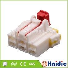 O envio gratuito de 2 conjuntos 6pin auto cabo habitação plug mg 650887 cablagem elétrica conector mg650887