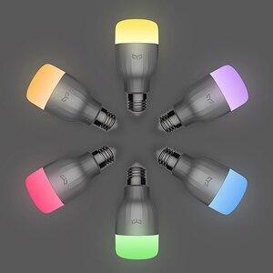 Image 3 - Yeelight 電球 led スマート電球 220 12v E27 9 ワット 600 ルーメンアプリ無線 lan リモートコントロール rgbw ランプ電球カラー版