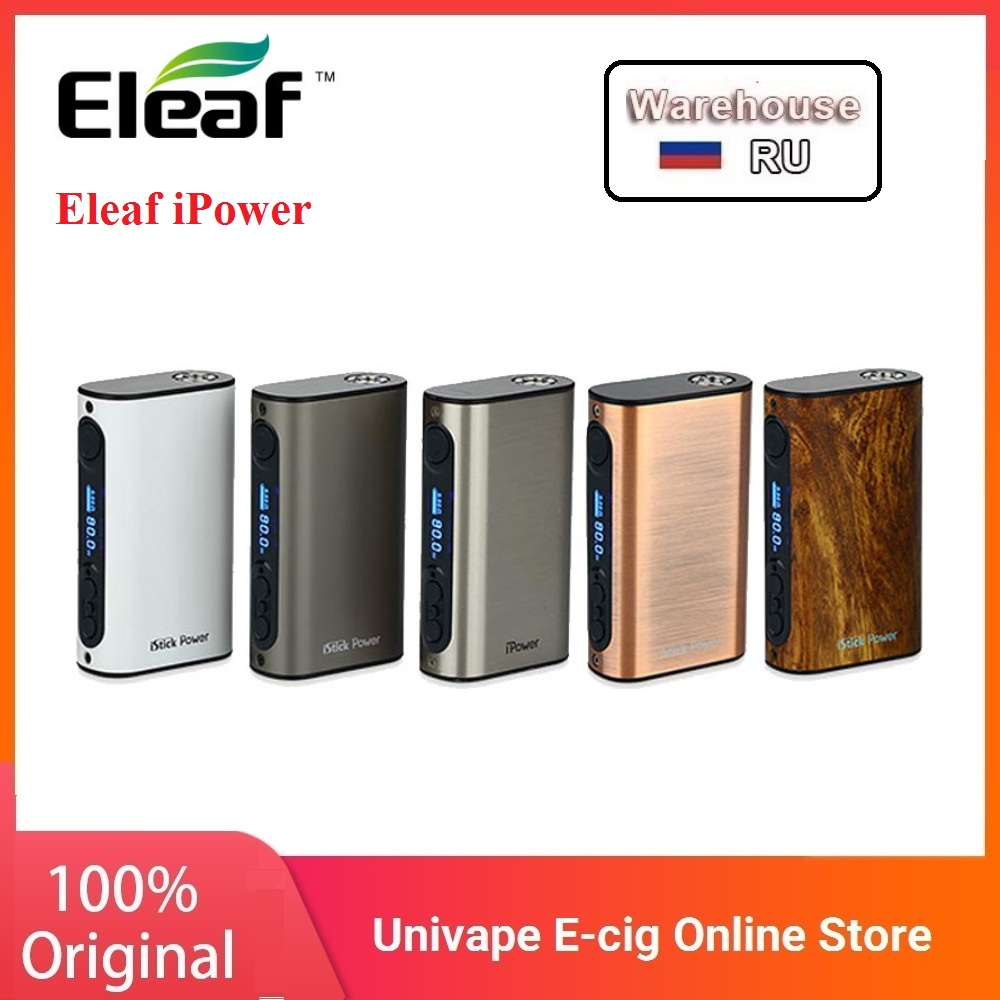 ORIGINAL Eleaf IPower 80W 5000mah Vs Istick Power Nano Mod 40W 1100mAh Battery Electronic Cigarette Mod Suit Melo 3/Nano Tank