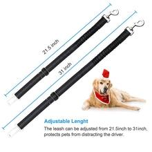 2pcs Elastic Pet Belt Seat Dog Cat Lead Leash for Small Medium Dogs Travel Clip Black Adjustable Harness Safe Seatbelt