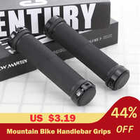 2pcs/1 Pair Mountain Cycling Bike Bicycle MTB Handlebar Cover Grips Smooth Soft Rubber Anti-slip Handle Grip Lock Bar End
