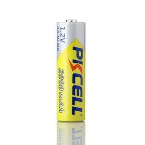 Image 2 - Baterie PKCELL Ni MH AA 2600mAh 2800mAh 1.2V akumulator NiMh 2A komórka Batteria do latarek zabawki aparatu