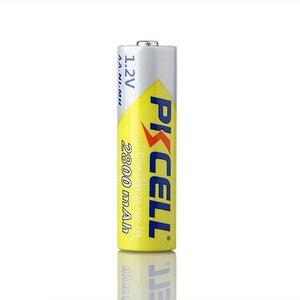 Image 2 - PKCELL Ni Mh Batterie AA 2600mAh 2800mAh 1.2V NiMh Batteria Ricaricabile 2A Delle Cellule di Batteria Per Torcia Camera giocattoli