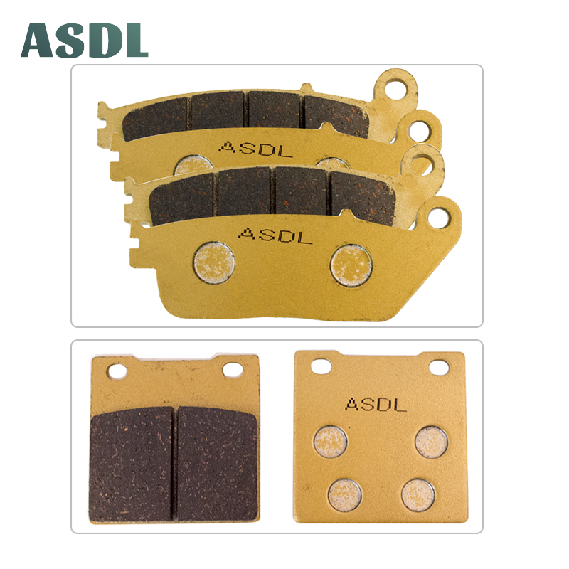 Motorcycle Front and Rear Brake Pads For Suzuki RF 400 RR/VR/RT/RVT/RV RF 600 RP/RR/RS/RT/RV <font><b>GSF</b></font> <font><b>650</b></font> S/T/V/W/X Naked Bandit #c image