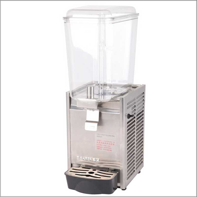 Brand New 2020 Single Tank 18L Comercial Cold & Hot Mixing Juice Dispenser Stainless Stell